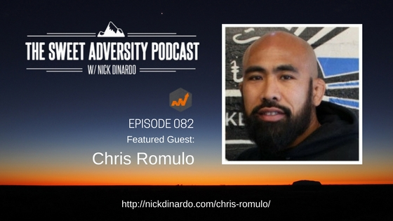 Sweet Adversity Podcast - Chris Romulo